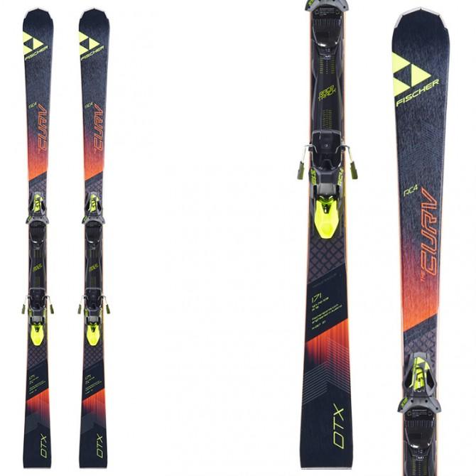 Esquí Fischer RC4 The Curv DTX RT + fijaciones RC4 Z12 RT