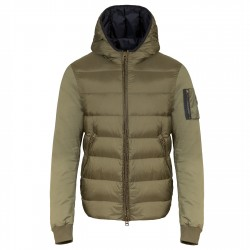 Down jacket Colmar Originals System Research Man green