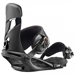 Snowboard bindings Head Nx One black