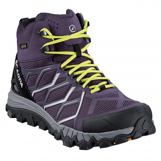 Trekking shoes Scarpa Nitro Hike Gtx Woman purple