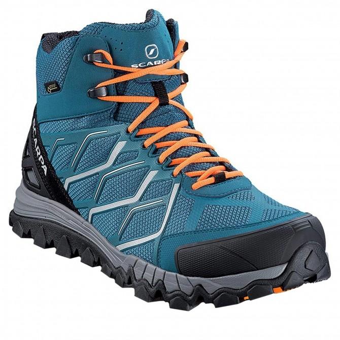 Pedule trekking Scarpa Nitro Hike Gtx Uomo blu SCARPA Trekking Mid