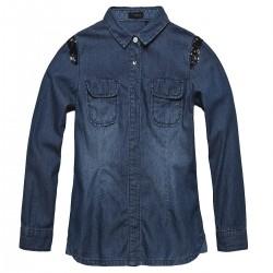camisa jeans Ikks Girl