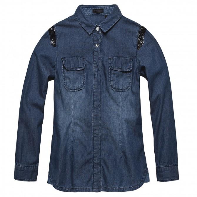 camicia jeans Ikks Girl