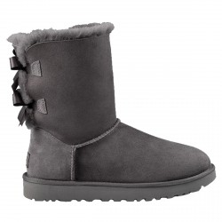 Bottes Ugg Bailey Bow II Femme gris