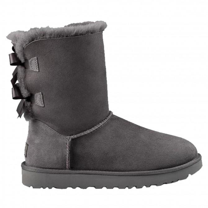 Boots Ugg Bailey Bow II Woman grey