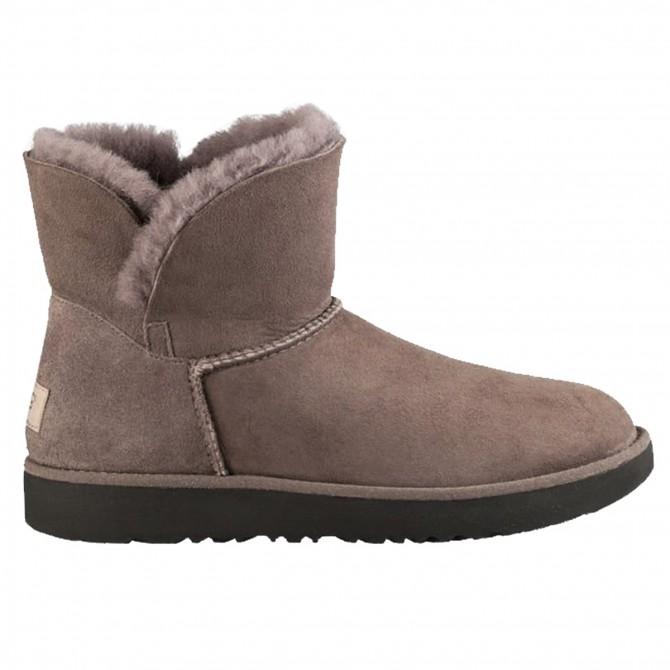 Boots Ugg Classic Cuff Mini Woman grey