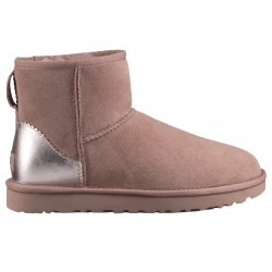 Boots Ugg Classic Mini II Metallic Woman pink