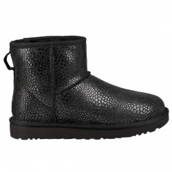 Boots Ugg Classic Mini Glitzy Woman black