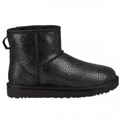 Boots Ugg Classic Mini Glitzy Woman black