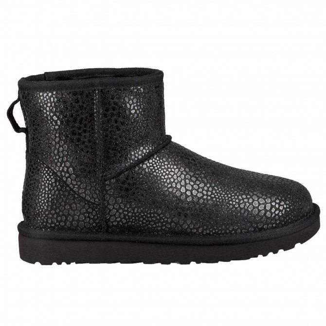 12ef416bb80 Boots Ugg Classic Mini Glitzy Woman black