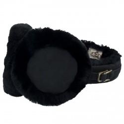 Cache-oreilles Ugg Classic noir