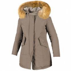 Parka Freedomday New Chamois Mujer bronce
