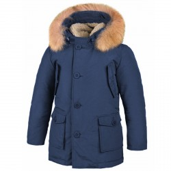 Parka Freedomday Bormio Junior navy