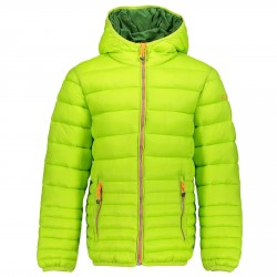 Down jacket Cmp Junior fluro green