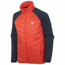 Ski down jacket Rossignol Clim Light Junior orange