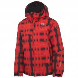 Ski jacket Rossignol Ski Junior red-black