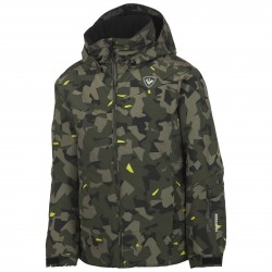 Ski jacket Rossignol Ski Junior camouflage