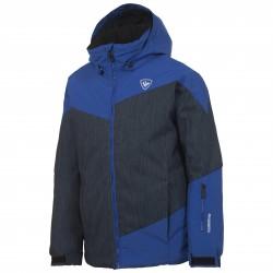 Giacca sci Rossignol Ski Bambino blu jeans