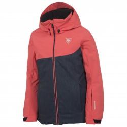Ski jacket Rossignol Ski Girl coral-jeans