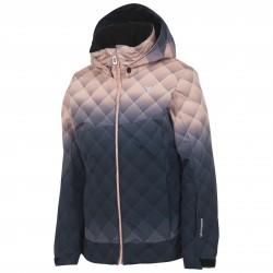 Giacca sci Rossignol Ski Pr Bambina blu-rosa