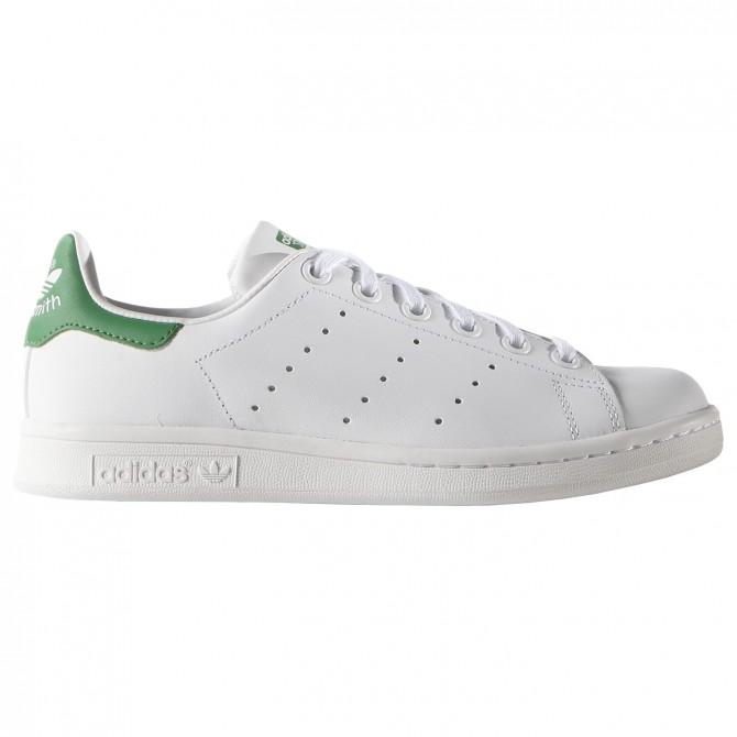 Sneakers Adidas Stan Smith Junior white-green (36-38.5)