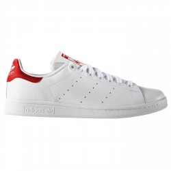Sneakers Adidas Stan Smith bianco-rosso