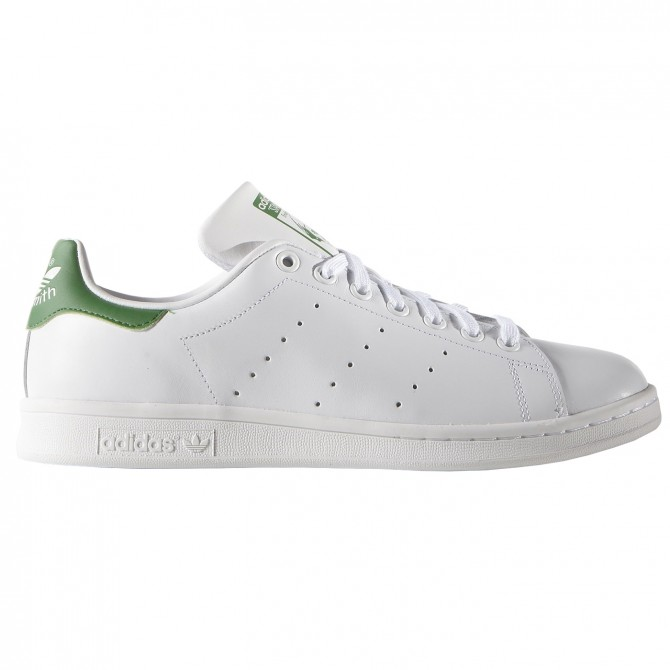 Sneakers Adidas Stan Smith bainco-verde