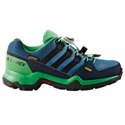 Trekking shoes Adidas Terrex Gtx Junior green-blue