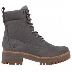 Boots Timberland Courmayeur Valley Lace up Woman grey