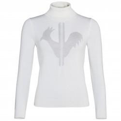 Pullover ski Rossignol Classique Femme blanc