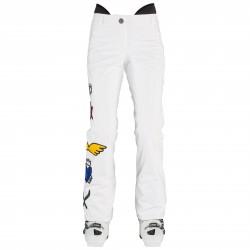 Pantalon ski Rossignol Signak Pt Femme blanc