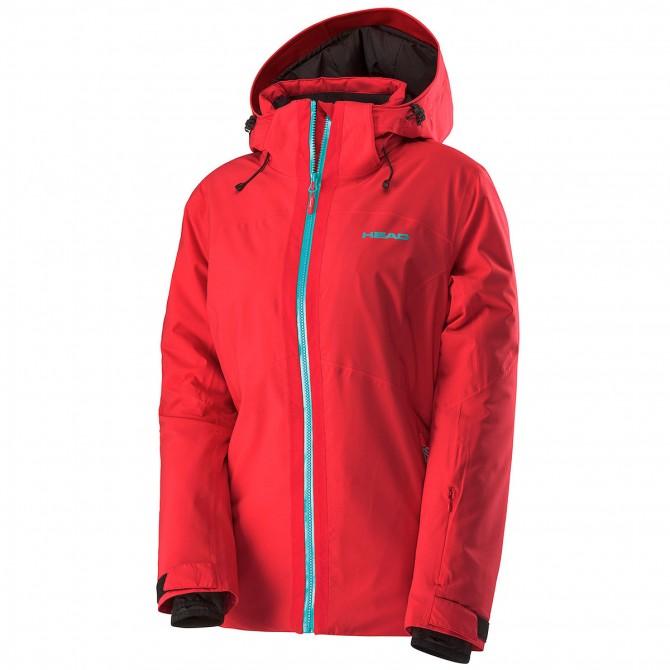 Veste ski femme rouge