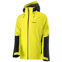 Ski jacket Head 2L Eclipse Man yellow