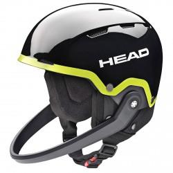 Casque ski Head Team SL + mentonnière noir