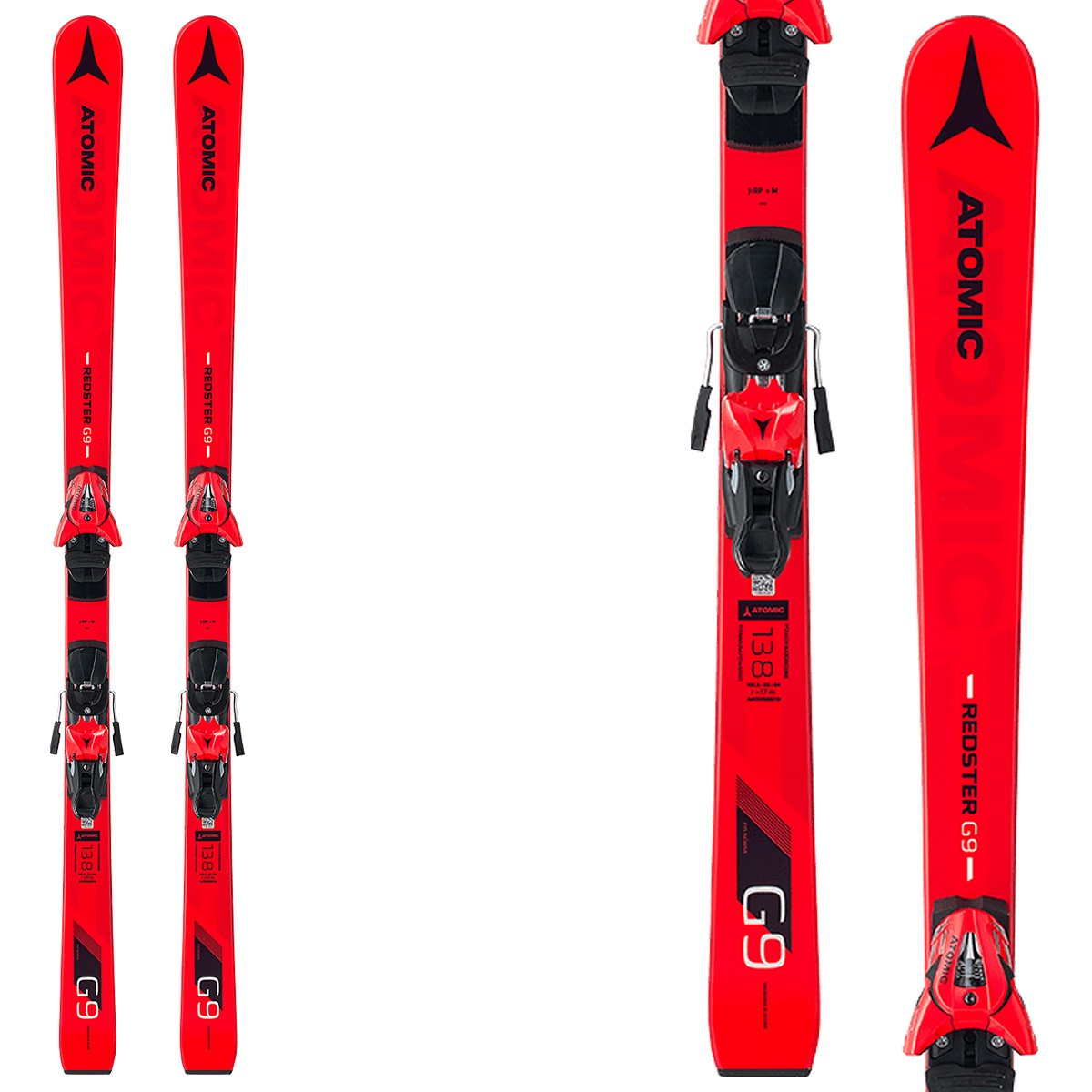 Ski Atomic Redster G9 FIS J-RP + Bindings Z10
