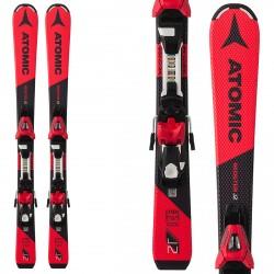Ski Atomic Redster J2 100-120 + bindings C5 ET