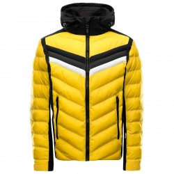 Ski jacket Toni Sailer Kit Man yellow