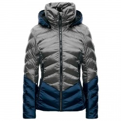 Ski jacket Toni Sailer Iris Woman grey-blue