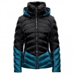 Chaqueta esquí Toni Sailer Iris Mujer negro-azul