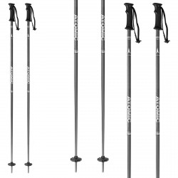 Ski poles Atomic Amt black