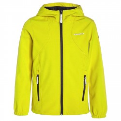 Softshell Icepeak Rio Junior fluro yellow