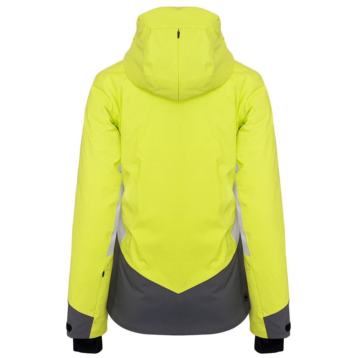 Giacca sci Colmar Greenland Donna giallo
