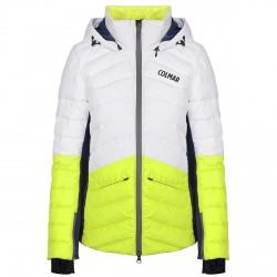 Veste ski Colmar Ushuaia Femme blanc-jaune