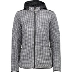 Fleece Cmp Woman white-black