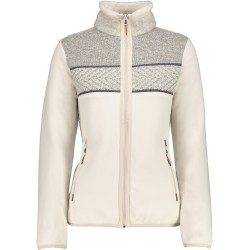 Fleece Cmp Woman cream-grey