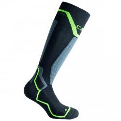 Calcetines esquí Cmp Thermocool negro-verde