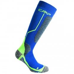 Calze sci Cmp Wool blu-verde