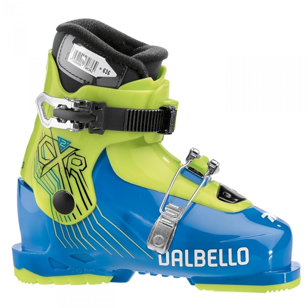 Scarponi sci Dalbello Rtl Cxr 2.0 (Colore: azzurro-giallo, Taglia: 21)