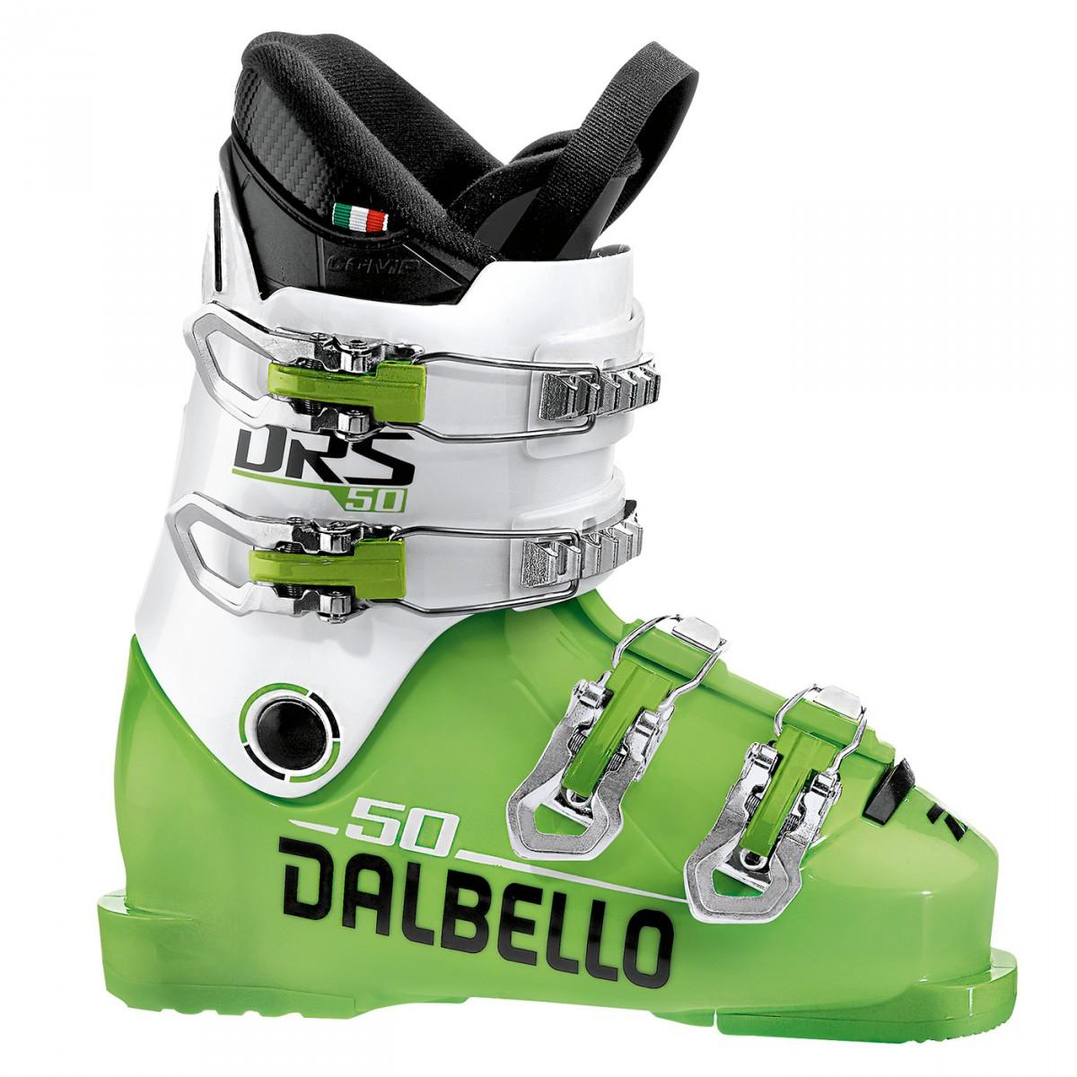 Scarponi sci Dalbello Drs 50 Avanti (Colore: verde-bianco, Taglia: 21)