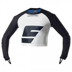 Suéter Energiapura Racing Chico negro-turquesa